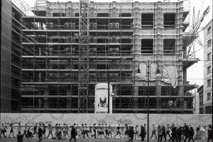 Staffe per la facciata - Cantiere Via Torino - MIlano - Merope Asset Management
