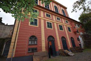 Genova - Villa Spinola retro