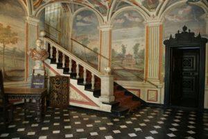 Genova - Villa Spinola stanza affrescata
