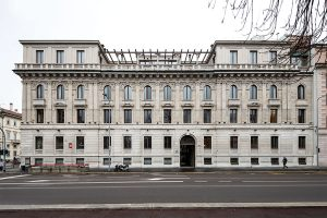 Facciata Palazzo Bernasconi zona Palestro Milano - Merope Asset Management