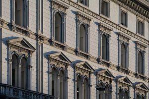 Fronte Ovest Palazzo Corso Venezia 56 Milano - Merope Asset Management