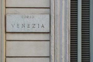 Targa Via Palazzo Corso Venezia 56 Milano - Merope Asset Management