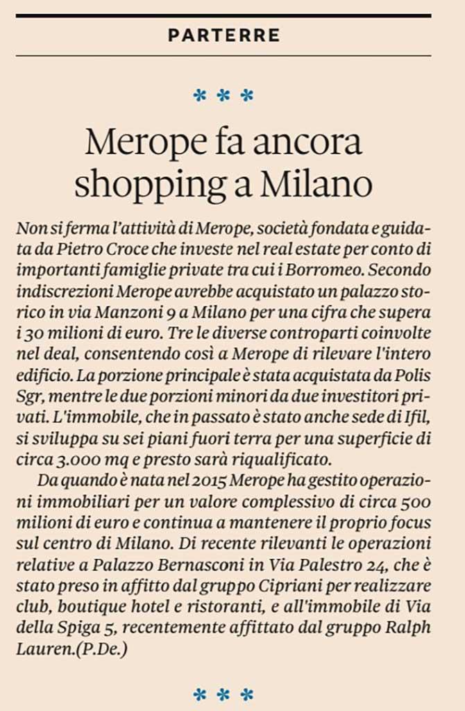Sole24Ore-Merope-Shopping-milano